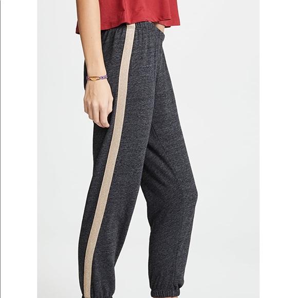 Spiritual Gangster Sweatpants w/ Metallic stripes